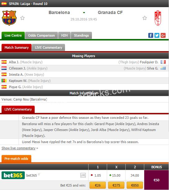 barcelona vs granada - photo #46