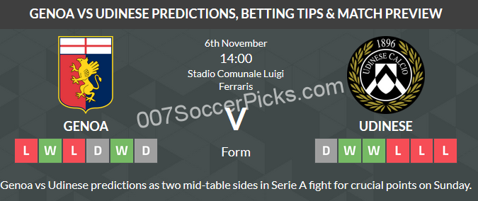 Genoa Vs Udinese Betting Tips - image 4