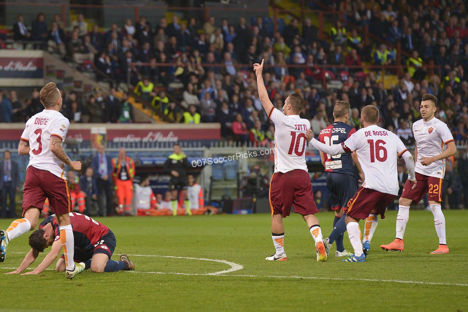 Genoa-AS-Roma