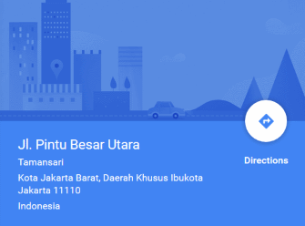 Our Indonesian Address