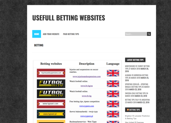 Football betting tips correct score hr lingfluent eu