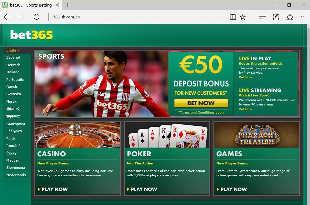 Bet365 online sports betting url system oscar grind betting