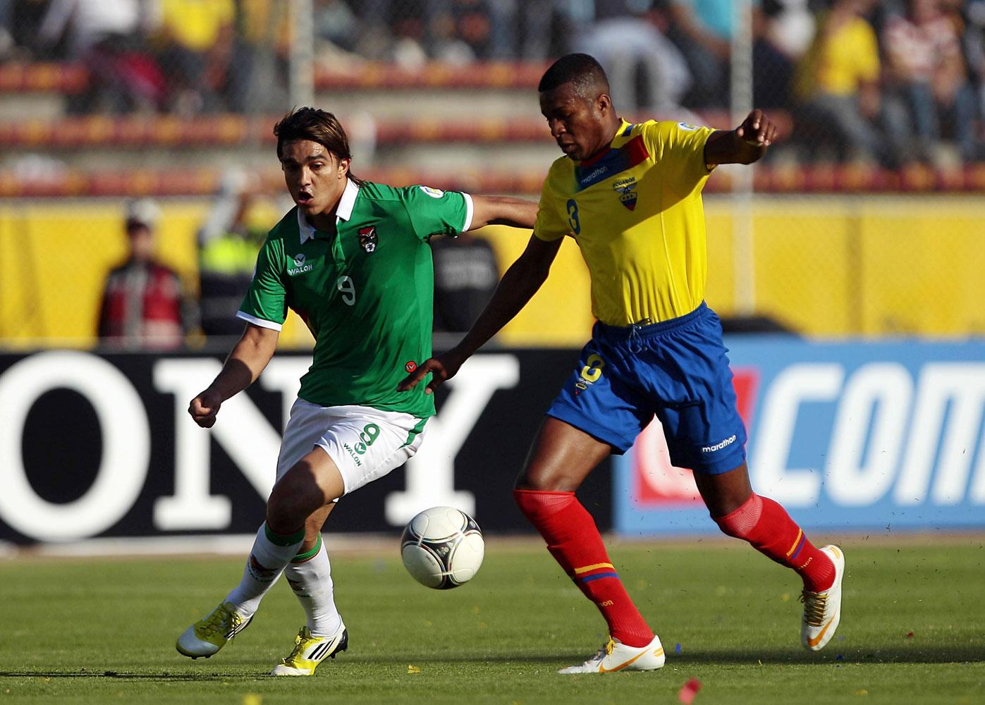 от футбол боливия эквадор прогноз