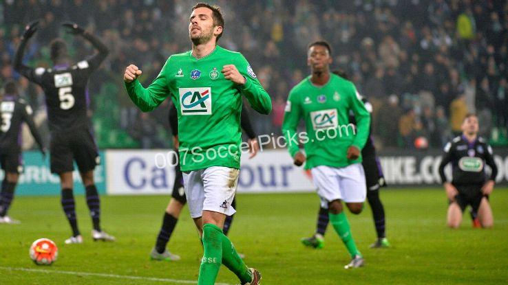 St Etienne vs Guingamp Prediction