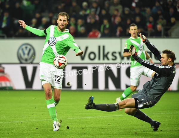 Wolfsburg vs RasenBallsport Leipzig Prediction