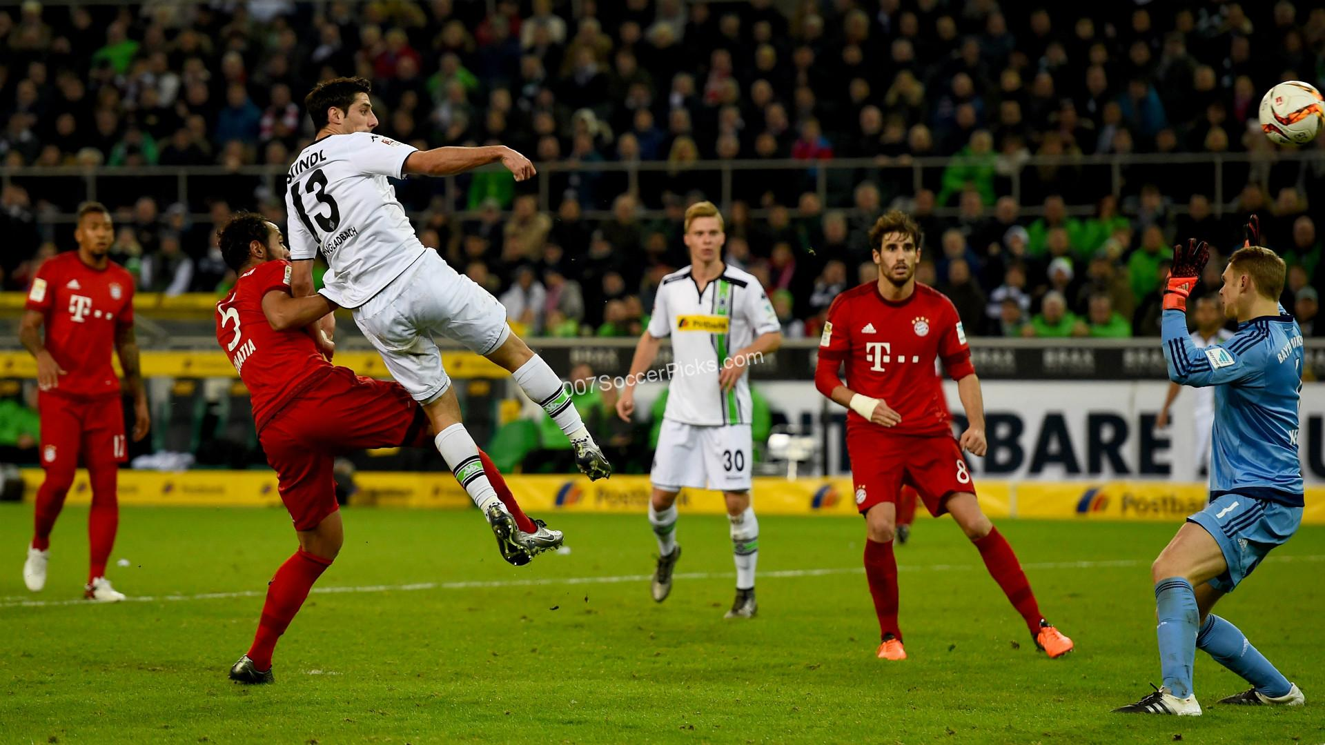 Prediction For B Monchengladbach Bayern Munich