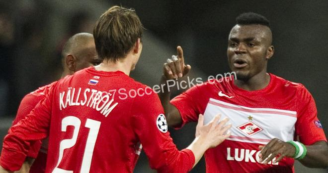 Spartak Moscow vs Anzhi Makhachkala Prediction
