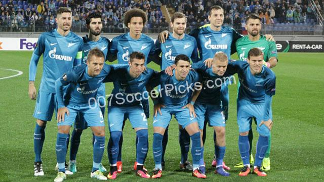 Zenit St Petersburg vs Ural S.R Prediction