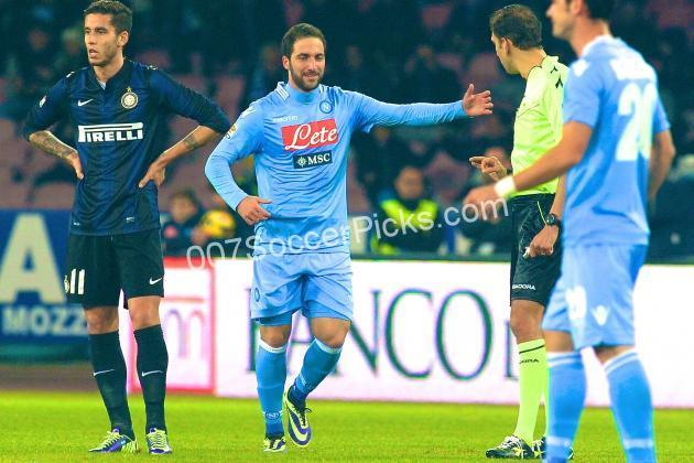 Napoli inter betting expert sports gals sports betting ltd