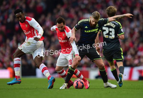 Middlesbrough-Arsenal